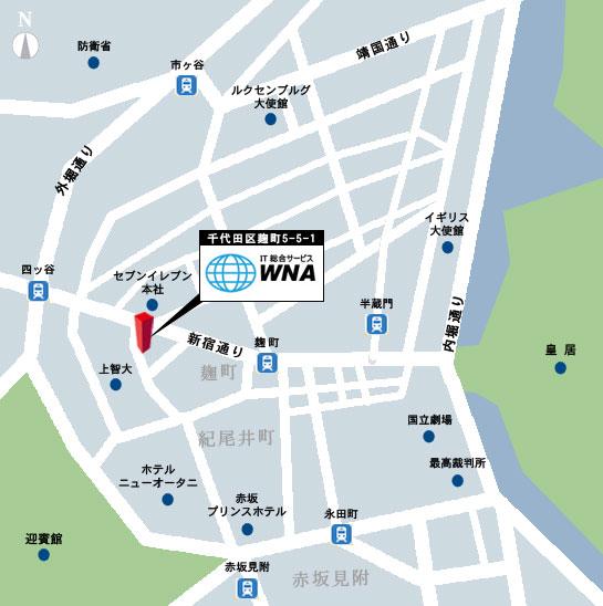 wna東京地図